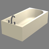 3ds max ready bathtub