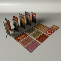 persian rug c4d