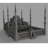 mosque 3d max