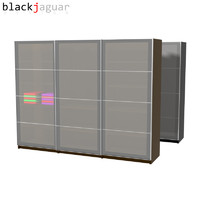 free wardrobe sliding doors 3d model