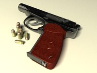 Makarov 9-mm - pistol