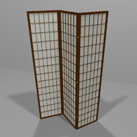 3d decorative screen model