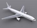 Boeing 777-200 3D models