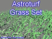 Astroturf Grass Set 001