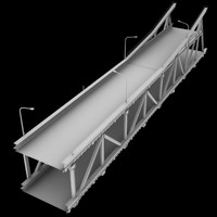 bridge section 3d model