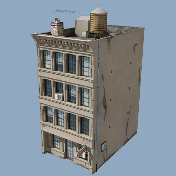 Buildings roof 3d model 3d house builder online