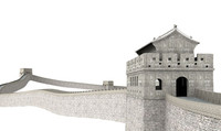 great wall china 3d 3ds