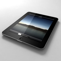 Apple iPad (tablet pc with iphone os)