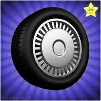 c4d car wheel