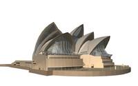 sydney opera house 3d 3ds