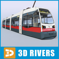 maya vienna tram tramways new