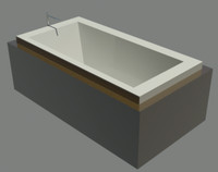 3d bain ultra bathtub model