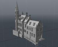 3d model of building 4 brugge