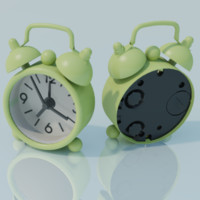 maya green alarm clock