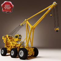 Flight Deck Crane Tilly Yellow