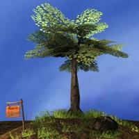 3d tree scene polys