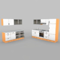 3d model kitchen textur