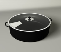 cooking pot c4d
