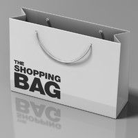 carrier bag 3d c4d