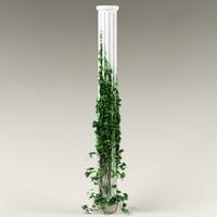 3d plant column