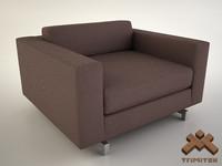 Club Chair by Marmol Radziner