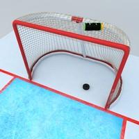 3d hockey goal model