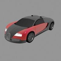 buggati veyron 3d max