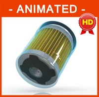 OIL FILTER Textured / Animated HD