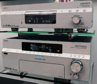Sony amplifier and DVD player
