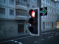 3d xpresso driven traffic light