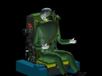 3d ejection seat 10l