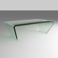 3ds max coffee table glass