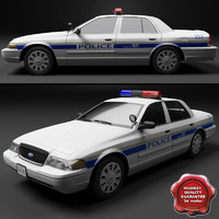 Crown Victoria Police Car