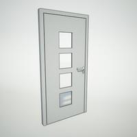 panel door 3d model