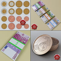 Euro money collection