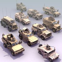 MRAPx10_Collection_3DModels