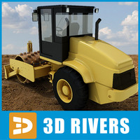 3ds vibratory soil compactor industrial vehicles