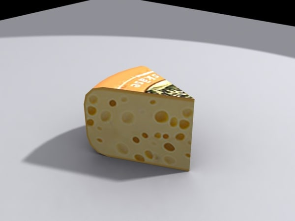 piece cheese 3d model - cheese.max... by Redfox1980