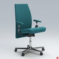 chair office 3d model