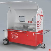 Ice cream cart01.ZIP