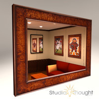 Wood Picture frame / mirror