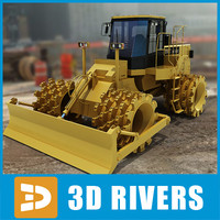 Soil compactor by 3DRivers
