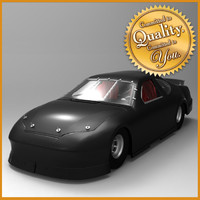 3d nascar car model