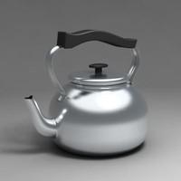 3d model tea maker