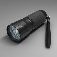 led flashlight 3d 3ds