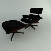 3d model furniture eame