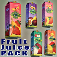 Spring fruit Juice pack
