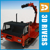 3d snow nodwell 3000 model