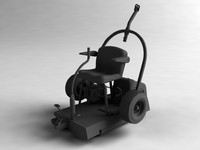 3dsmax ride lawn mower