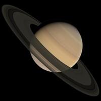 3d saturn planet model